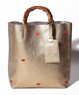 【NUR】刺繍ハンドバッグ