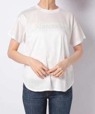 【Sono】ロゴプリントクルーネックTシャツ