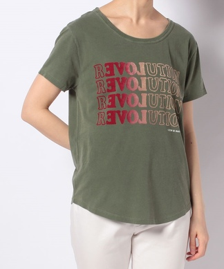 【LEON & HARPER】グラデーションカラーロゴTシャツ