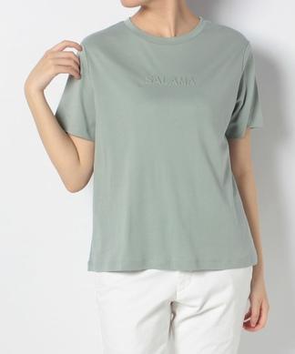 【Brahmin】ワンポイント立体ロゴTシャツ