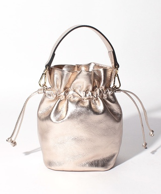 【LORISTELLA】巾着型ハンドバッグ