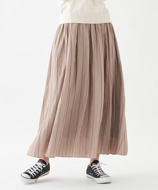 【BEATRICE】配色ストライプロングスカート