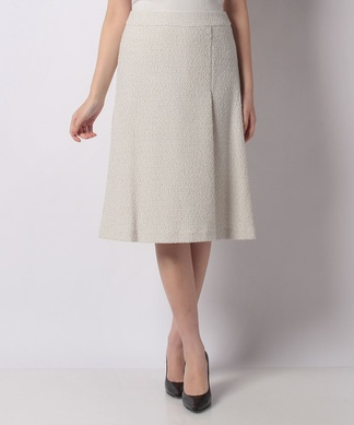 【セットアップ対応商品】フレアツイードスカート