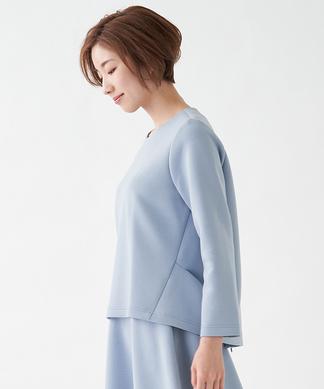 【セットアップ対応商品】【chouette】ボックスシルエットカットソー