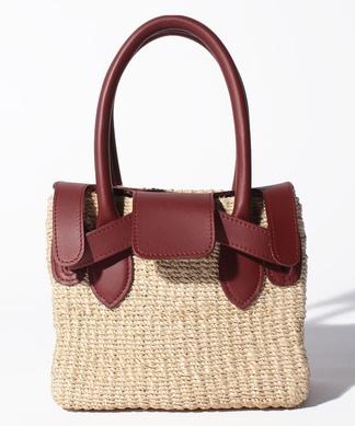 【COTTO】異素材ハンドバッグ