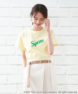 【Mylanka】SpriteロゴプリントTシャツ