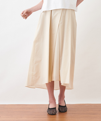 【DOLLY SEAN】タックロングスカート