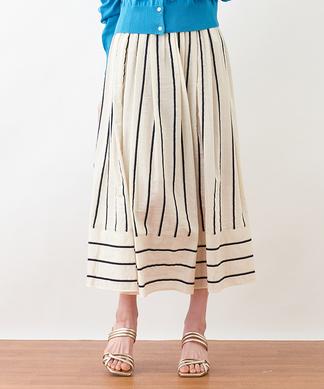 【BEATRICE】ストライプロングスカート