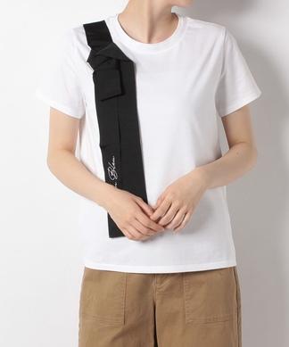 【LANVIN en Bleu】リボンモチーフTシャツ