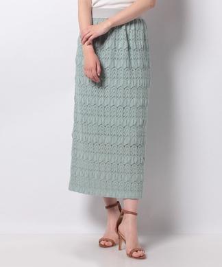 【DONEE YU】【セットアップ対応商品】ロングタイトスカート