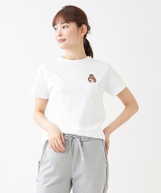 【ETOILe SIGNE】アニマルワッペンTシャツ