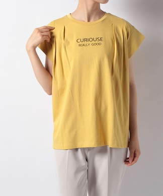 【BRAHMIN】タックロゴTシャツ