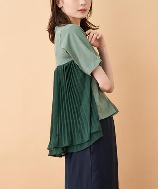 バックフレアTシャツ