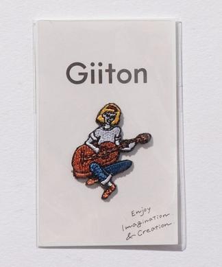 【Giiton】ユニークワッペン