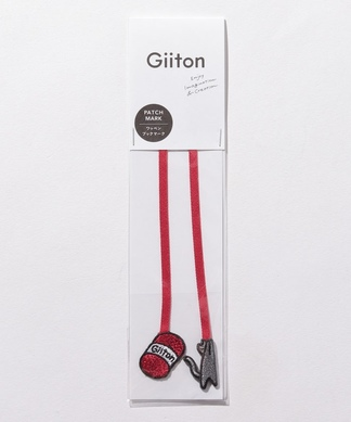 【Giiton】ワッペンモチーフブックマーカー