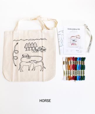 【Giiton】刺繍キットトートバッグ