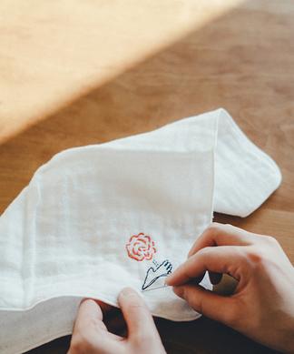 【Giiton】刺繍ハンカチキット