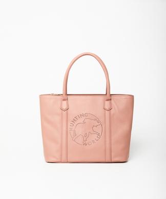 エルバ[スクエアトート]ピンク6104402012ウィメンズ