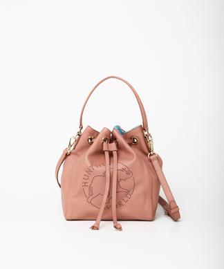 エルバ[ドローストリングバッグ]ピンク6104400112ウィメンズ