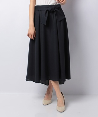 ロングテールフレアスカート