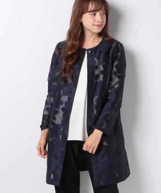 フラワー刺繍ジャケット