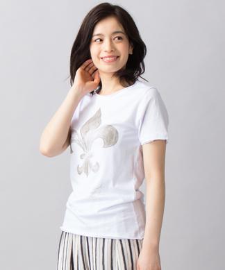 水彩画タッチTシャツ