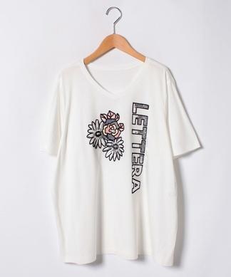 【19+】刺繍Tシャツ