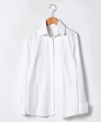 【Leilian by Eriko Nakamura】ピンタックシャツ