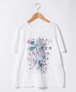 モザイクモチーフTシャツ