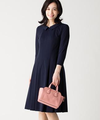 【特別提供品】タックワンピ-ス