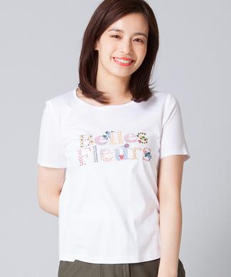 マルチロゴプリントTシャツ