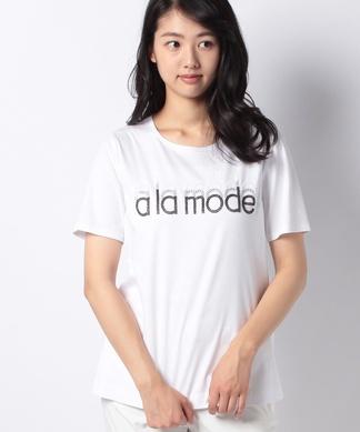 ロゴ×スターモチーフTシャツ