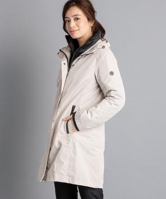 ジャケット付3WAYコ-ト