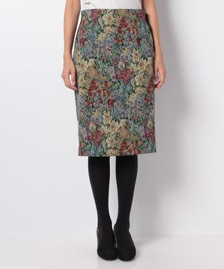 ゴブラン織りタイトスカート