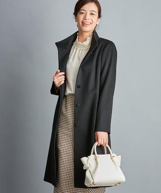 【COLOMBO】カシミヤスタンドカラーコート
