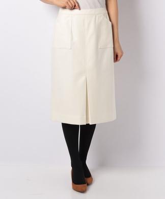 【エクラ12月号掲載】【ウィンターコレクション掲載商品】センターボックススカート