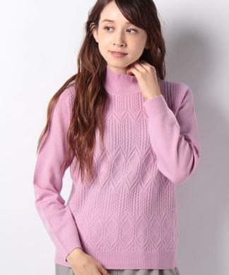 カシミアハイネックセーター