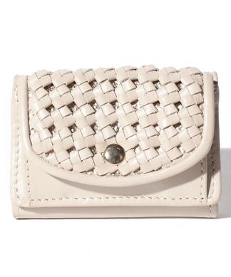 フラップメッシュ財布