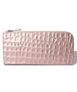 クロコ調財布