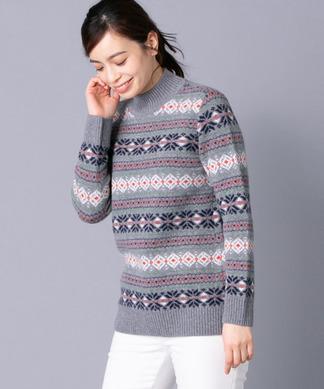 【特別提供品】ノルディック柄セーター
