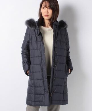【特別提供品】ファー付中綿コート