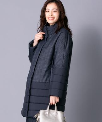 【特別提供品】異素材ミックスコート