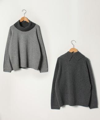 【特別提供品】タートルネックセーター