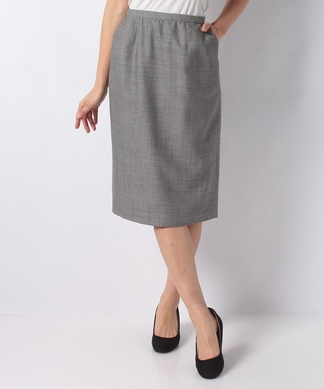 【LORO PIANA】ウールタイトスカート