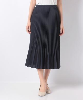 【ROCHAS Premiere】変型プリーツスカート