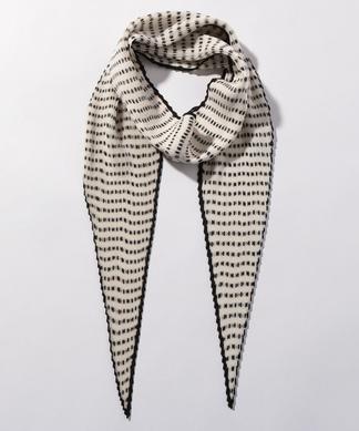 ドット柄スカーフ