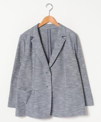 【19+】【AGNONA】スラブ調テーラードジャケット