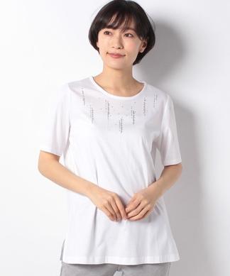 スパンコール半袖Tシャツ