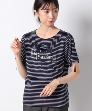 【MUSE BY ROCHAS Premiere】 ロゴTシャツ