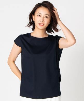 【特別提供品】無地ボートネックTシャツ